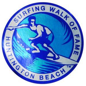 Surfing Walk of Fame sticker