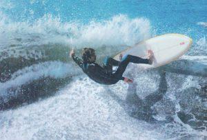 Bob Hurley surfing