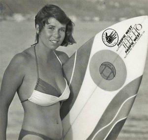Surfer Shannon Aikman