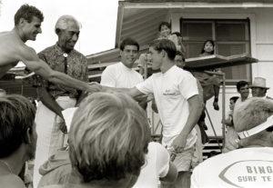 Duke Contest Fred Van Dyke, Duke Kahanamoku & Jeff Hakman