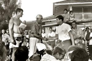 Duke Contest Duke Kahanamoku & Paul Strauch