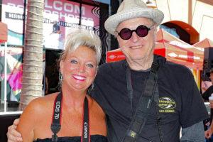 Diana Sullivan and John Van Hamersveld