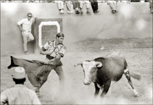 Joey Cabell Bull Fighting