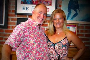 Board Member John Etheridge and wife